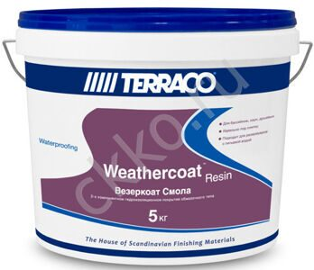TERRACO Weathercoat Resin